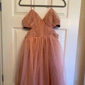 Pink tulle dress ASOS 6